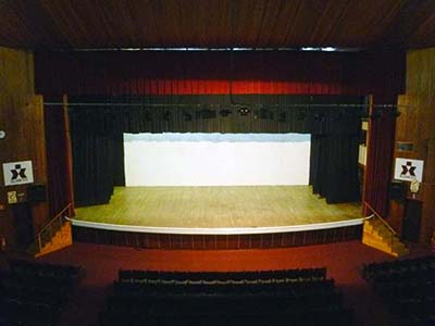grande auditorio palco