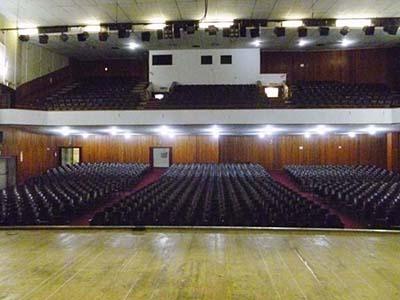 grande auditorio plateia
