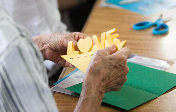 cuidador idosos  love