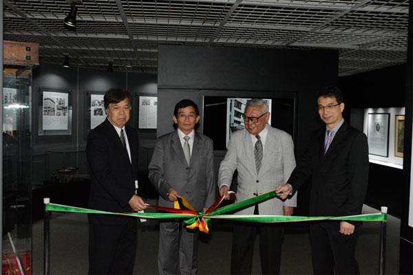 Inaugurada a nova área expositiva do 8º andar